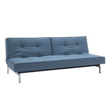 Innovation - Splitback Schlafsofa Chrom