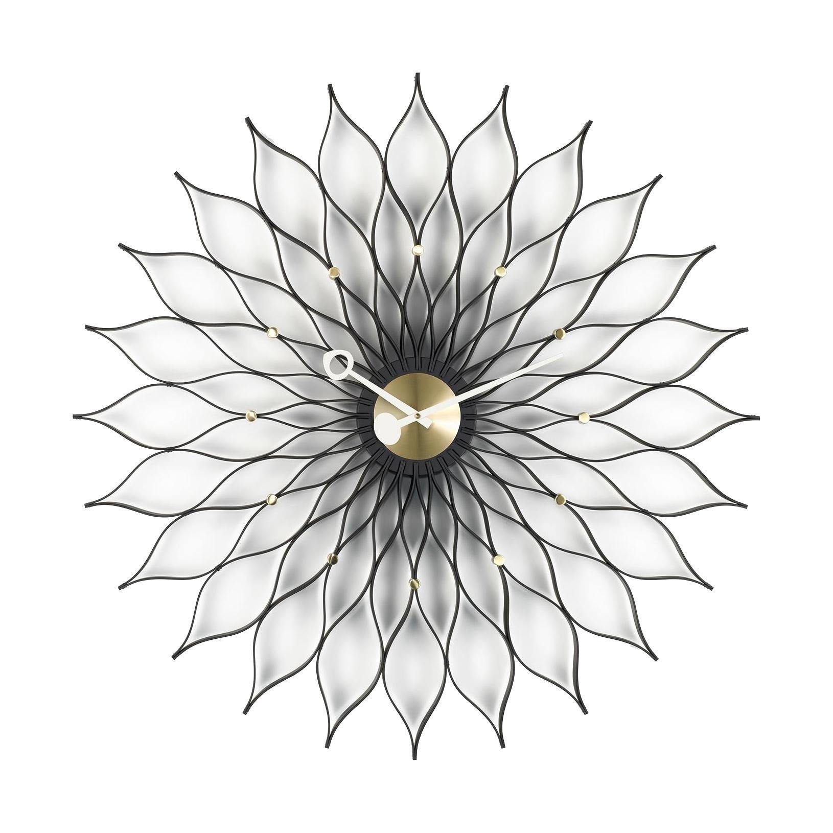 27ee8b1543d8 Vitra - Sunflower Clock Nelson Wanduhr ...