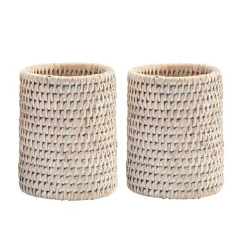 Decor Walther - Basket BER Rattan-Becher-Set 2tlg.