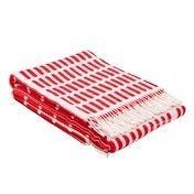 Artek - Artek Siena Tagesdecke - rot-weiß/180x130cm
