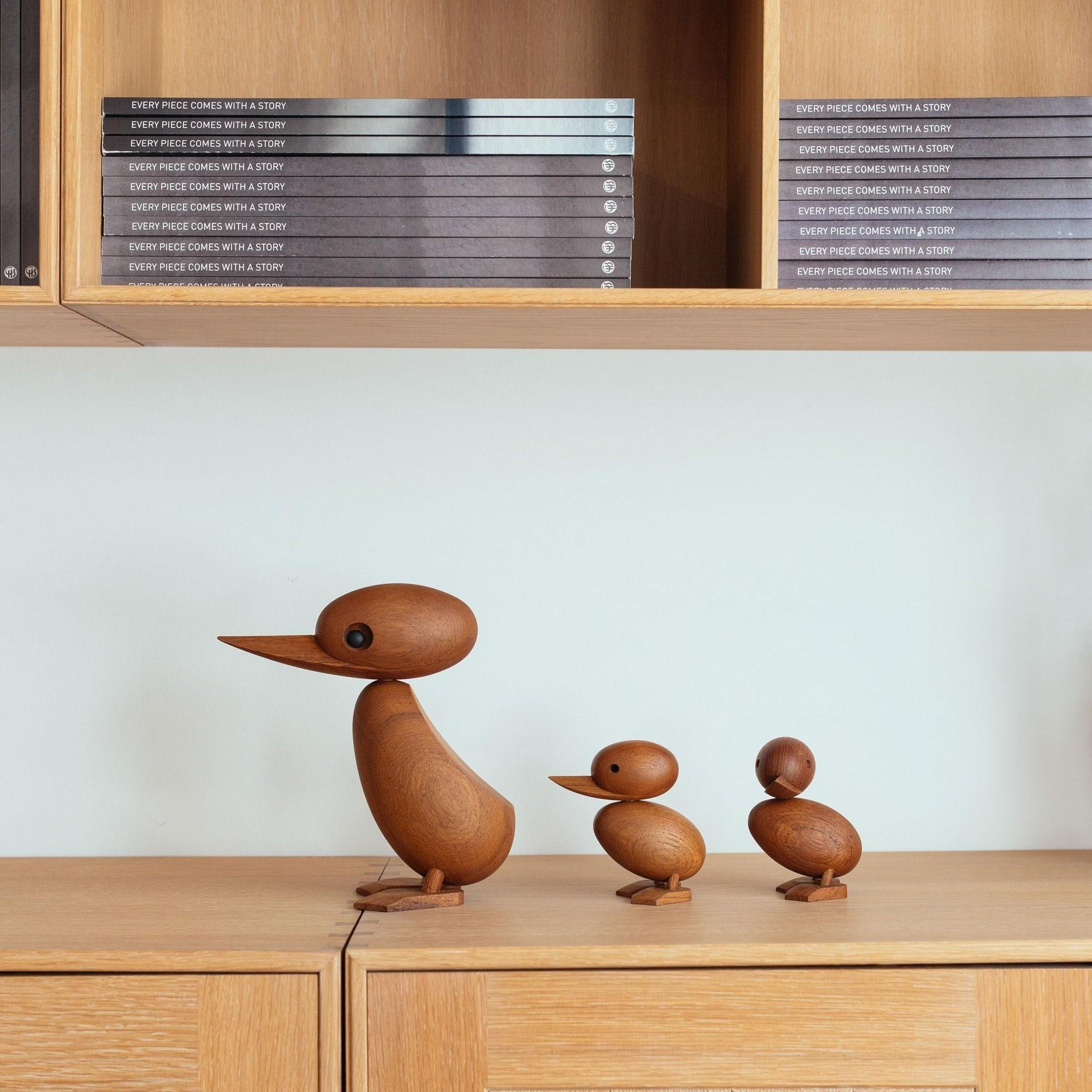Schöne Ente Tier Holz Vogel Entchen Duck KTier29