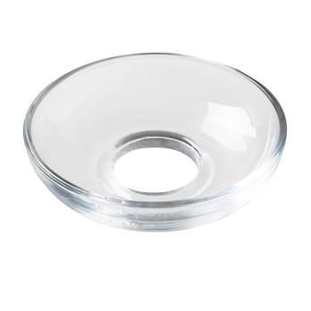 Holmegaard - Lumi Glasmanschette Ø8cm - transparent/schalenförmig/handgemachtes und handgemaltes Glas