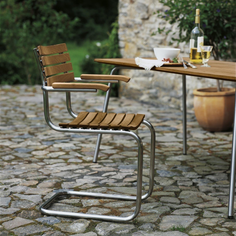 Thonet S 1040 Holz Gartentisch Ambientedirect