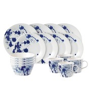 Royal Doulton - Set de vaisselle16 pièce Pacific Splash