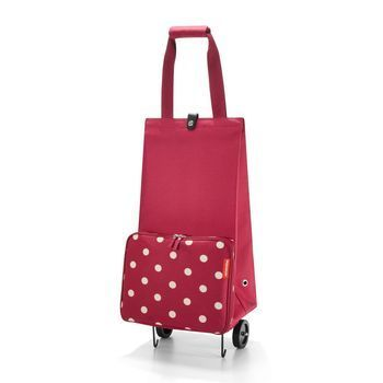 Reisenthel - Reisenthel foldabletrolley Einkaufstrolley - ruby dots
