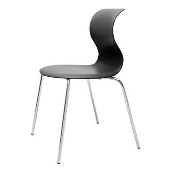 Flötotto - Pro 6 Stuhl Gestell chrom - schwarz