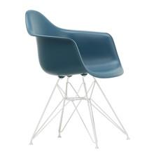 Vitra - Eames Plastic Armchair DAR Gestell weiß