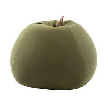 Sitting Bull - Soft Shell Sitzsack Apfel - grün/LxBxH 88x88x65cm