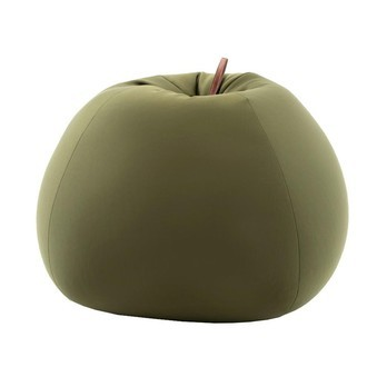 Sitting Bull - Soft Shell Seating Bean Apple - green/LxWxH 88x88x65cm