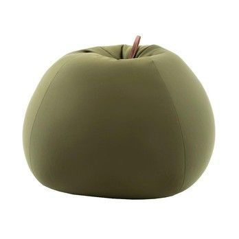 Sitting Bull - Soft Shell Seating Bean Apple - green/LxWxH 88x88x65cm