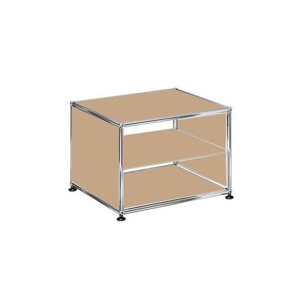 usm haller regal mit 2 f chern h 39cm ambientedirect. Black Bedroom Furniture Sets. Home Design Ideas