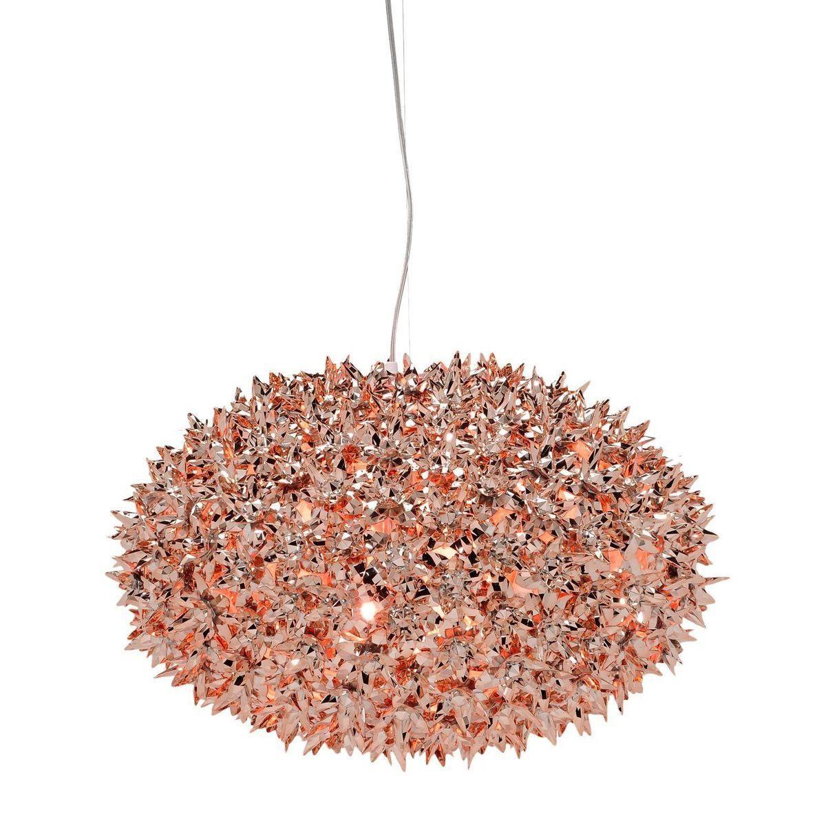 bloom metallic kugel pendelleuchte kartell. Black Bedroom Furniture Sets. Home Design Ideas