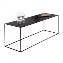 Zeus - Slim Irony Side Table 124x41x46cm