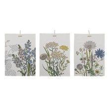 Bloomingville - Botanic Kitchen Towel Set Of 3
