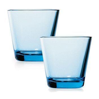 iittala - Kartio Gläser 2 Stück - hellblau/21cl