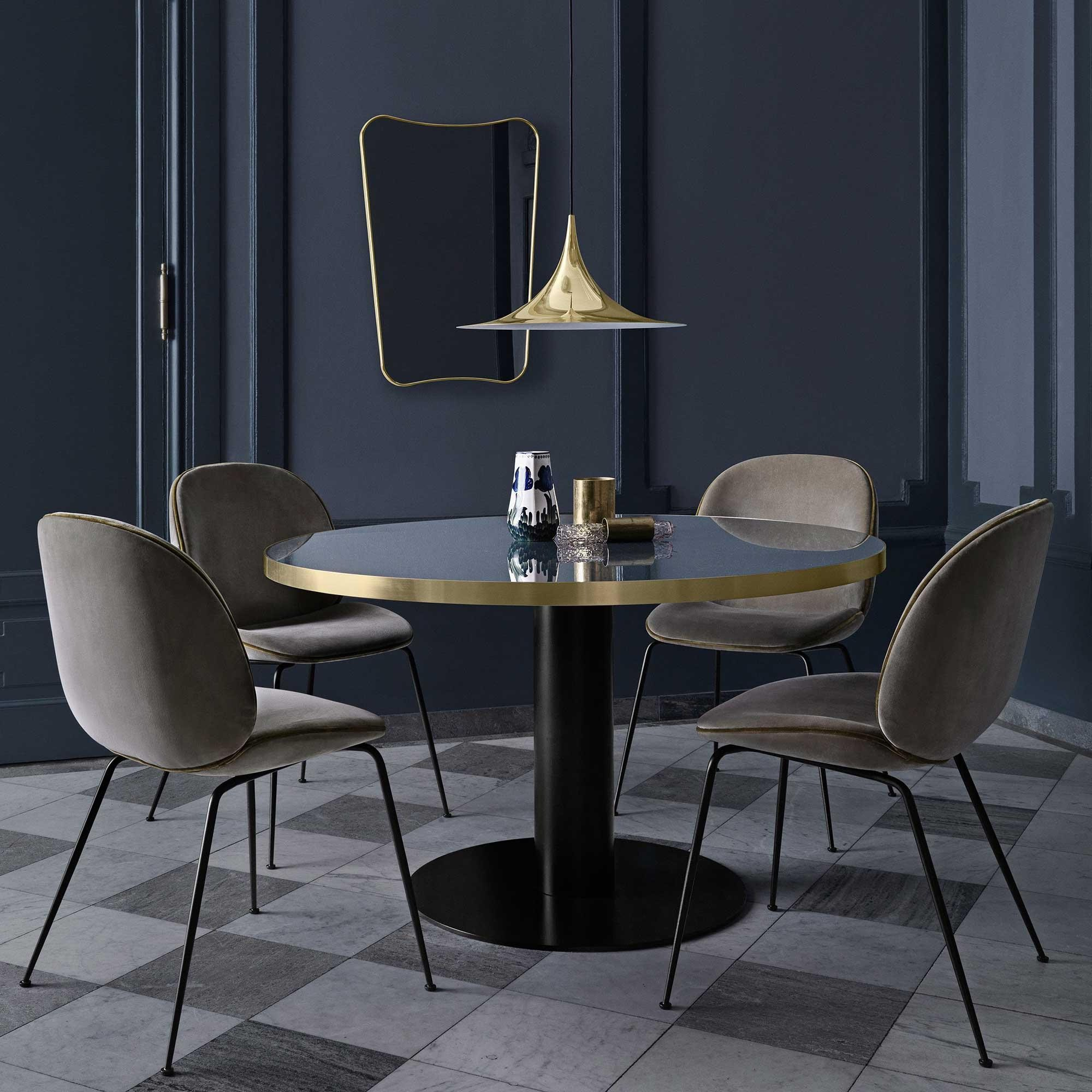 Gubi 2 0 Dining Table Tisch Gestell Schwarz 110cm