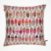 Vitra - Maharam Kissen 55x55cm - Vases Berry/pink/grau/beige