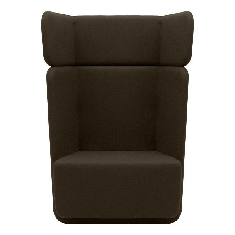 Basket fauteuil avec dossier haut softline for Canape avec dossier haut