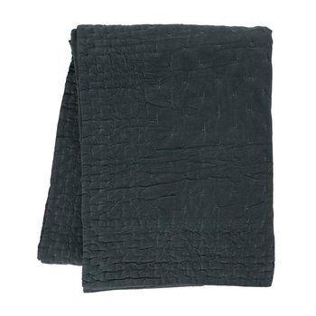 Linum - Paolo Tagesdecke 270x260cm - dunkel anthrazitgrau