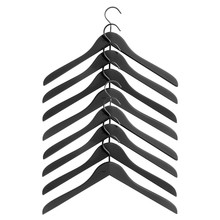 HAY - Soft Coat kleerhanger-set van 8