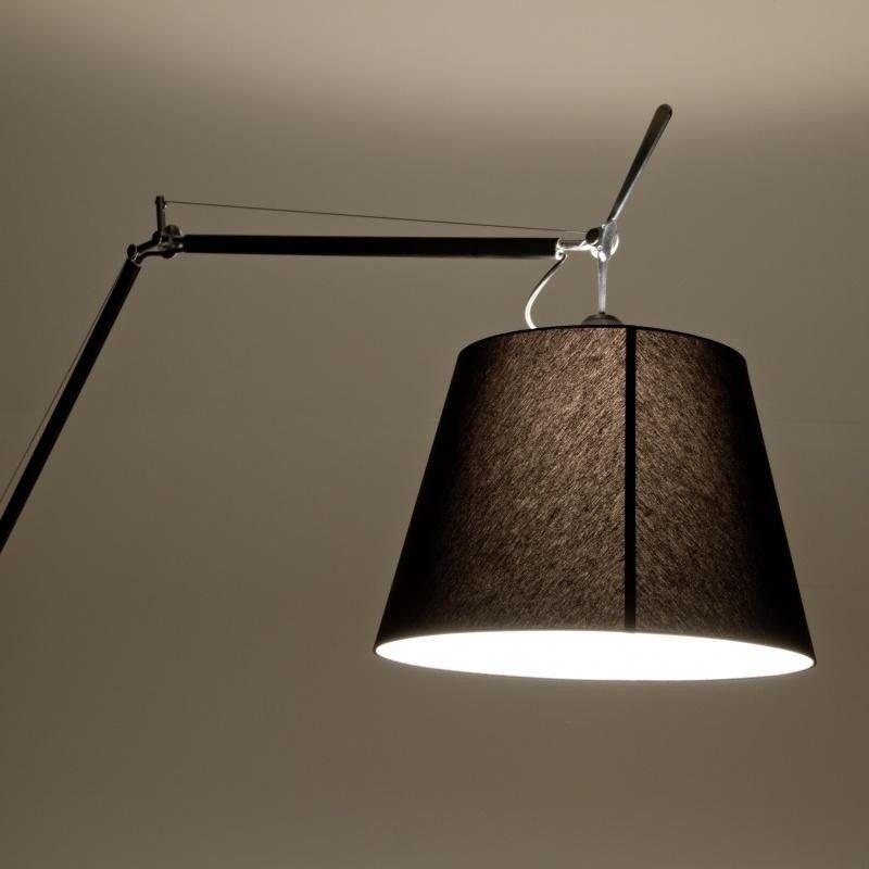 tolomeo mega terra schwarz stehleuchte artemide. Black Bedroom Furniture Sets. Home Design Ideas