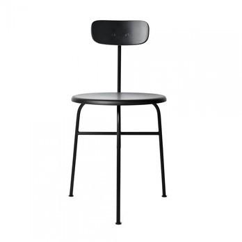Menu - Afteroom Dining Chair 3 Stuhl - schwarz/BxHxT 45,5x76,5x51cm/Sitzfläche Holz