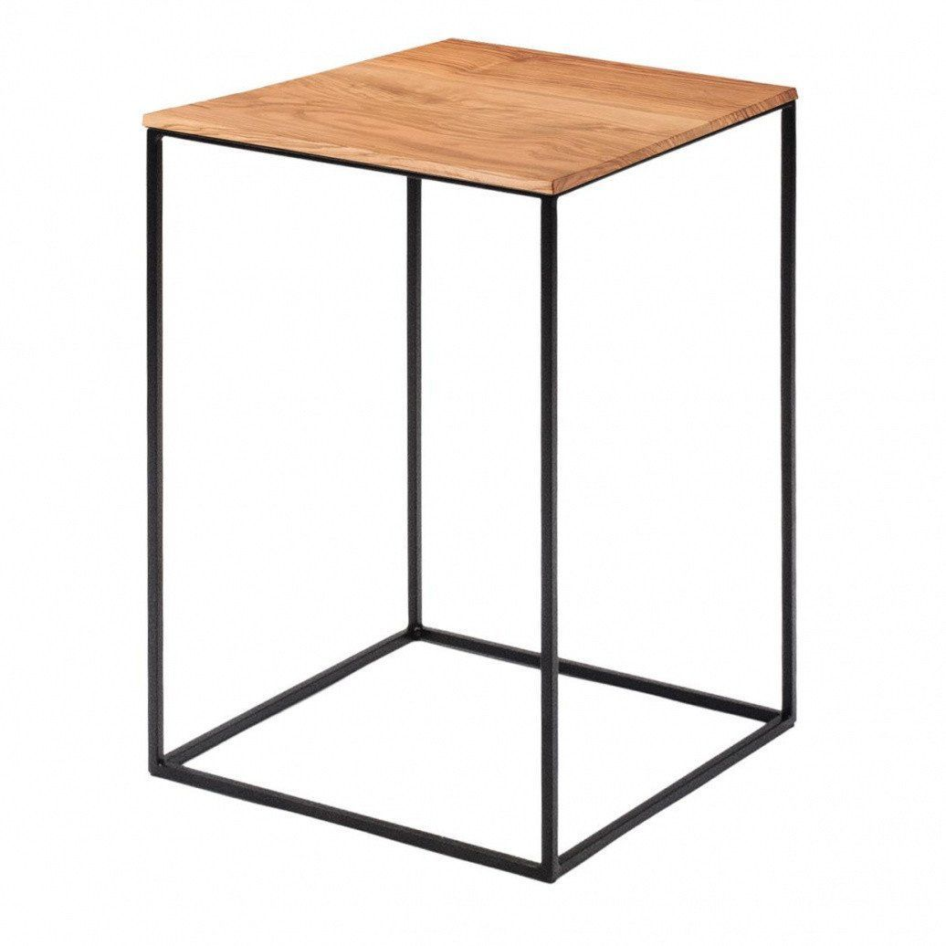 Zeus   Slim Irony Side Table   Natural/solid ...