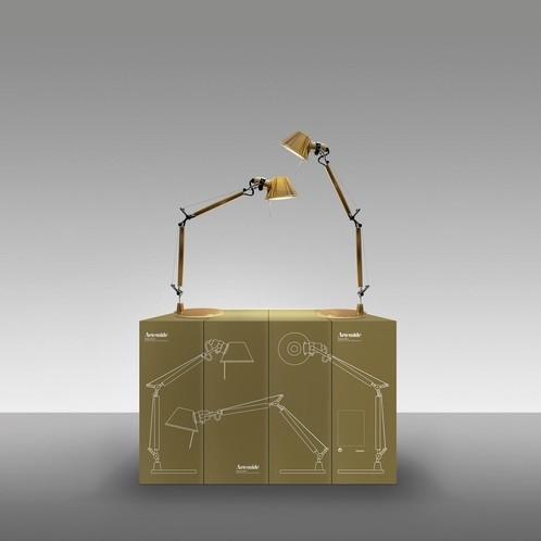Artemide - Limited Edition Tolomeo Micro Tavolo Gold