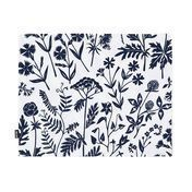 Artek - Niittykukka-Meadow Flower Placemat - white/blue/35x44cm