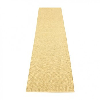 pappelina - Svea Teppich 70x320cm - gold metallic/hellgelb
