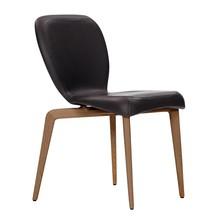 ClassiCon - Chaise Munich rembourrée cuir