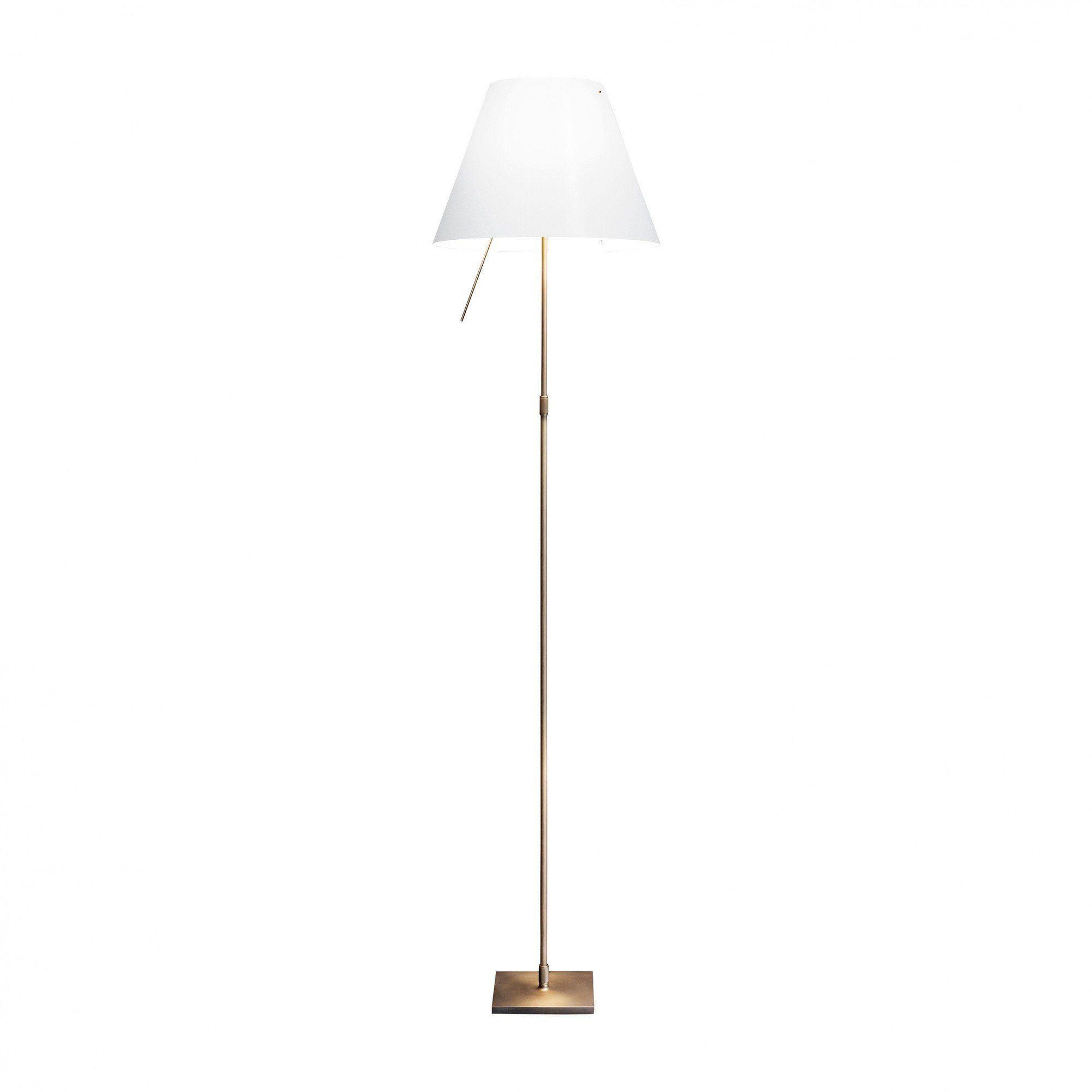 Luceplan  Limited Edition Costanza Bronze Floor Lamp  Whiteframe