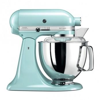 KitchenAid - KitchenAid Artisan 5KSM175 Küchenmaschine - eisblau/glänzend/Kabellänge 145cm