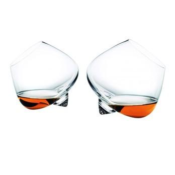 Normann Copenhagen - Cognac Glas Set 2 Stück - transparent