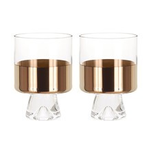 Tom Dixon - Tom Dixon Tank Low Ball - Glas set van 2