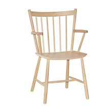 HAY - Hay J42 Chair - Armleunstoel onderstel eik