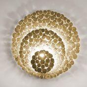 Terzani - Tresor Wandleuchte - gold/glänzend/Größe 2/Ø45cm