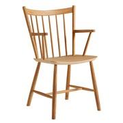 HAY - Chaise avec accoudoirs chêne J42
