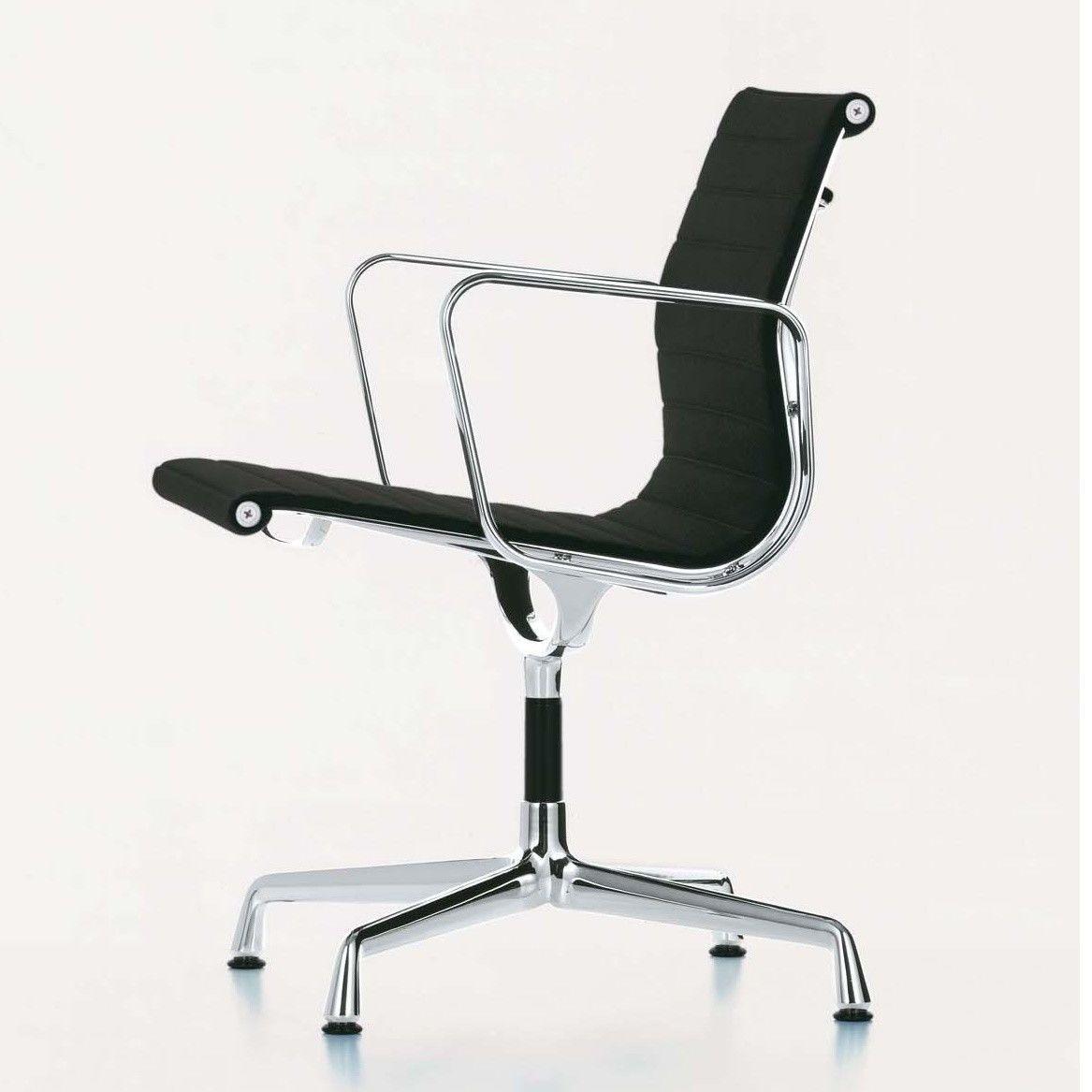 Vitra ea 108 aluminium chair chaise de bureau vitra for Chaise eames vitra soldes