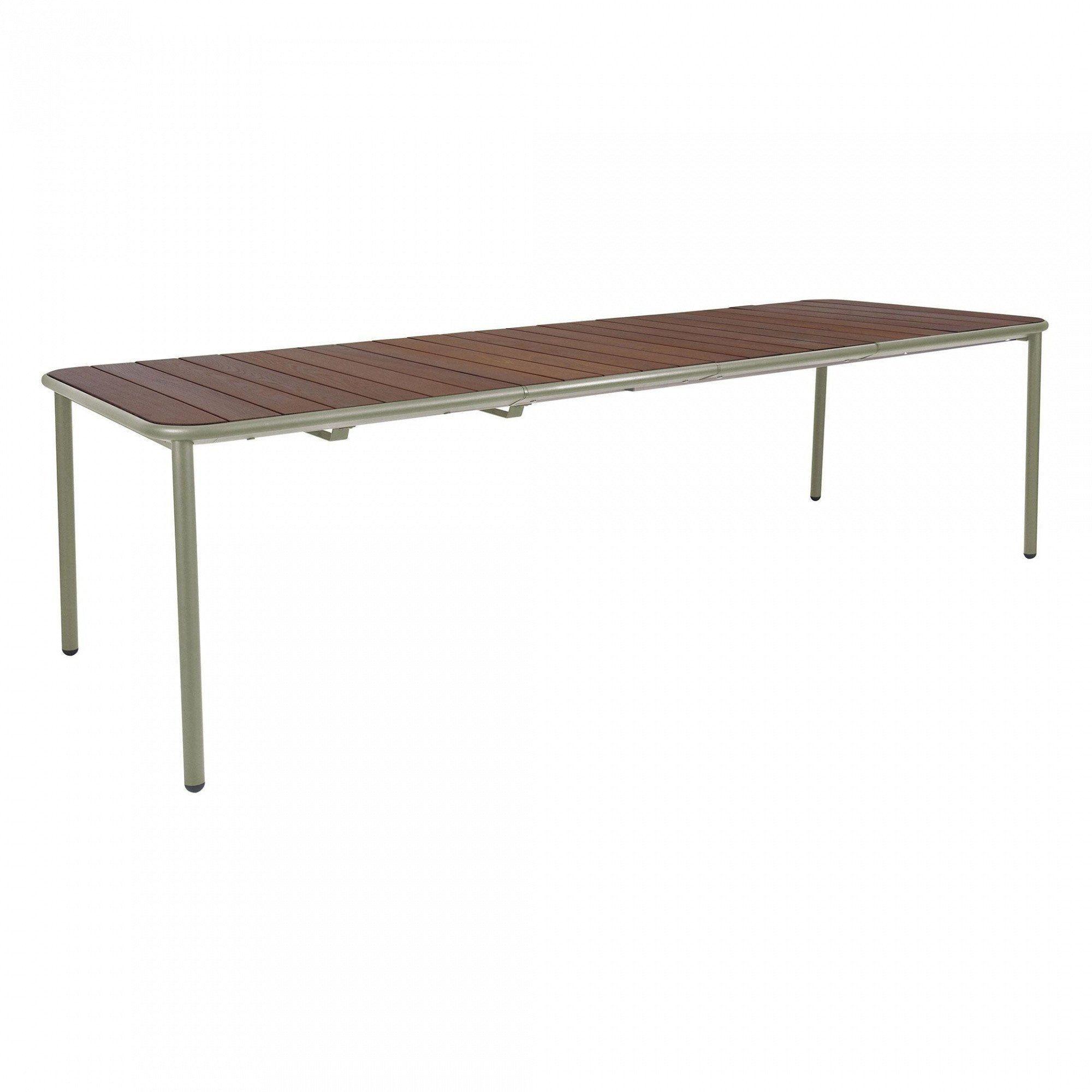 Gartentisch ausziehbar  emu Yard Eschenholz Gartentisch ausziehbar | AmbienteDirect