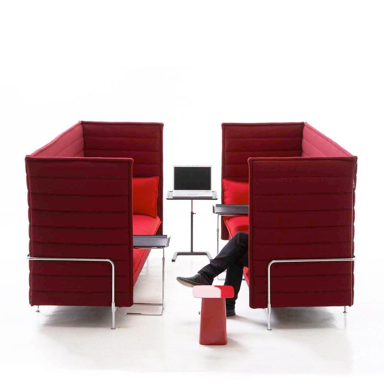 alcove highback 3 seater sofa vitra. Black Bedroom Furniture Sets. Home Design Ideas