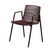 Fast - Zebra - Chaise de jardin avec accoudoirs