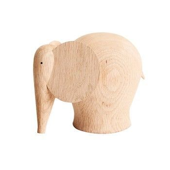 Woud - Nunu Elephant - Holzfigur M -