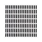 Artek - Siena Stoffservietten 2er-Set - weiß/schwarz/46x46cm