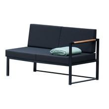 Jan Kurtz - Lux Lounge 2 Sitzer Sofa schwarz
