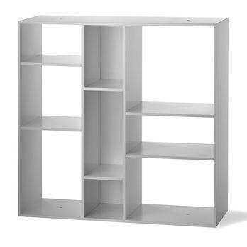Authentics - Kubus Regal - weiß/9 Fächer/76x76cm/Einzelstück - nur einmal verfügbar!