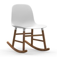 Normann Copenhagen - Form Rocking Chair Schaukelstuhl Walnuss
