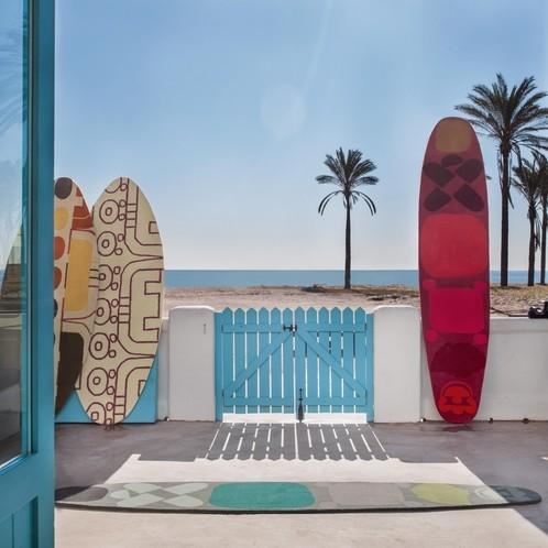 GAN - Surf GAN Teppich
