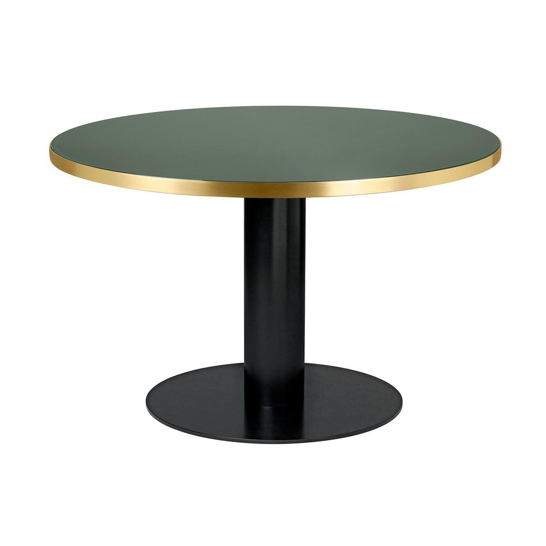 2 0 dining table table structure noir 125cm gubi for Table structure