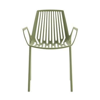 Fast - Rion Gartensessel - khaki grün/pulverbeschichtet/Neue Farbe!
